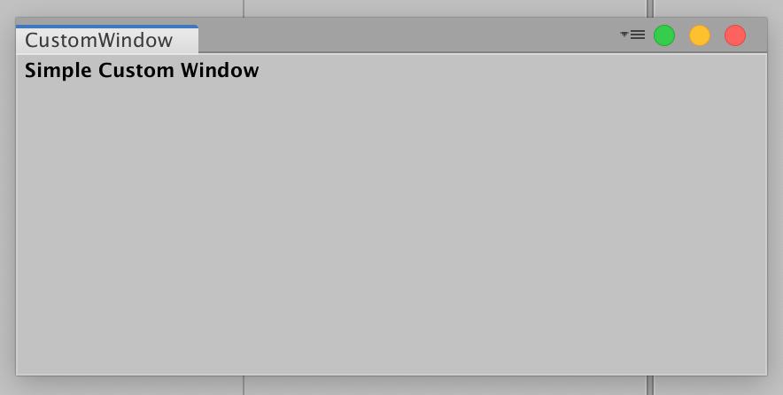 Custom Window in Unity - Patryk Galach