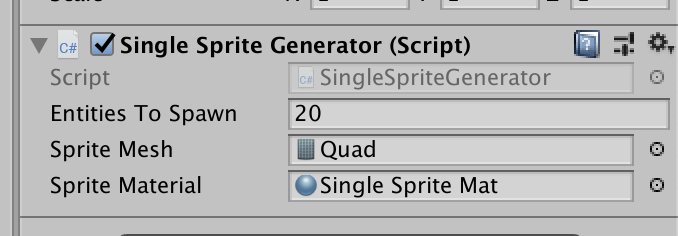 Sprite rendering with ECS in Unity - Patryk Galach