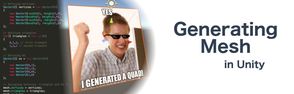 Generate mesh yourself! - Patryk Galach